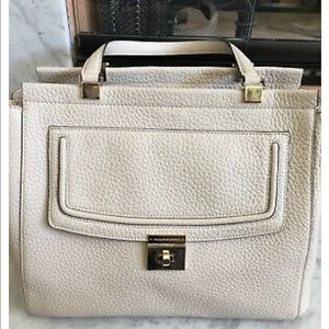 NWOT Kate Spade Cream Pebble Leather Everett Tote